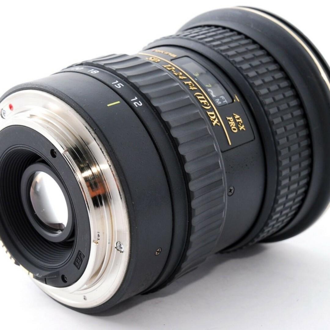 Tokina AF 12-24mm f/4 AT-X Pro SD IF DX Lens Canon EF