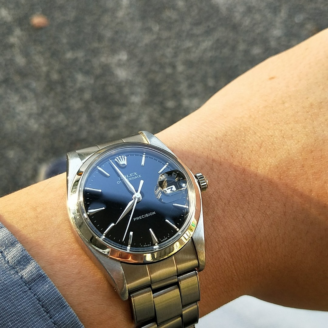 (FIRM Price Reduced)Trade/Sale Rolex 6694 Gilt Dial Dauphine Hands