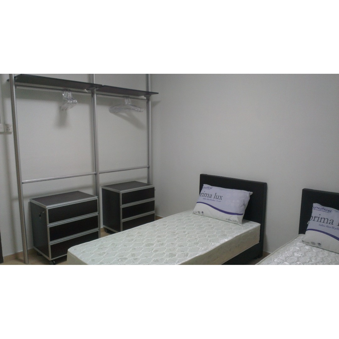 Twin Sharing Room at Clementi Central -Near NUS/NUH/SIM