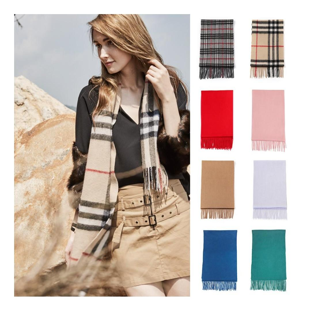 UGG Pure Wool Scarf, 168CM x 30CM, Soft Fashion Warm Winter