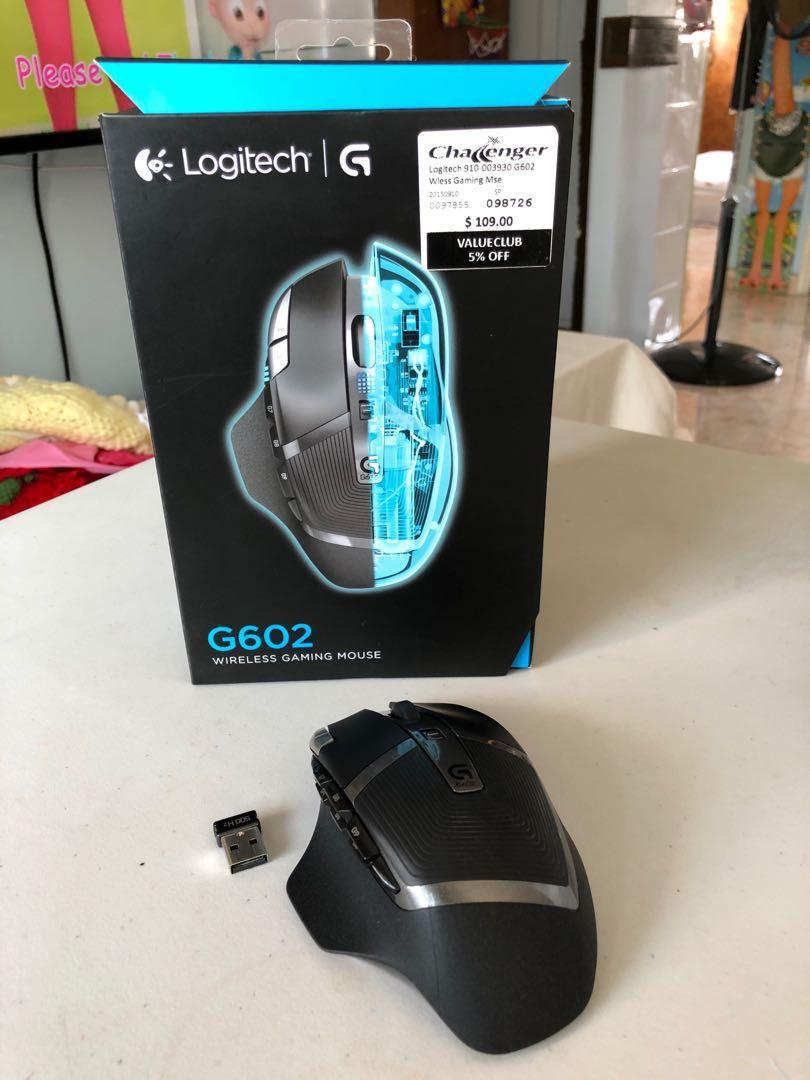 Used Logitech G602 Wireless Gaming Mouse, Electronics