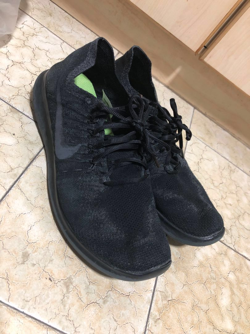 f3ac51404965 Used Nike Free Run Flyknit Fly Knit Running Shoes
