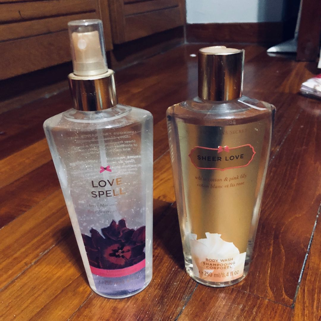 2904e6da0c Victoria s Secret Fragrance Mist   Body Wash