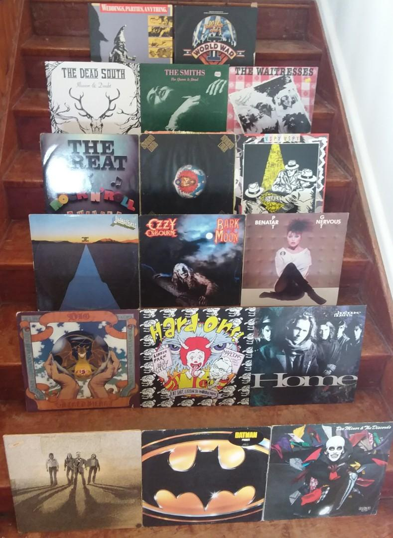 Vinyl Records from $10 to $50