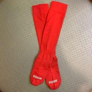 Puma Knee Socks Red