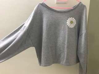 Daisy Grey Sweatshirt