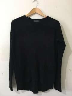 Black Sweater Top