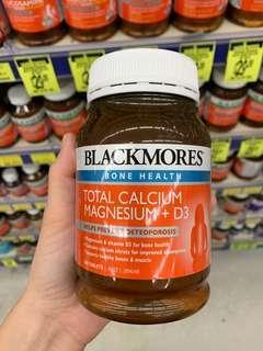 代購 Blackmores Total Calcium & Magnesium + D3 200 Tablets