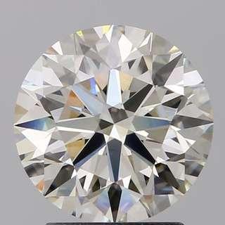 GIA  2.04卡 K色VVS2 鑽石 (有直播)