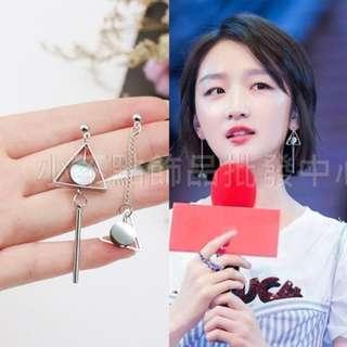 韓國時尚氣質S925銀針耳環