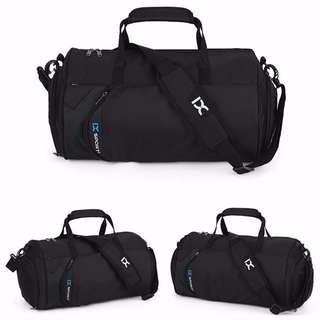 lX Black Duffel Bag  Sling Bag - With Shoe Compartment - Instock! 2029173cf8034