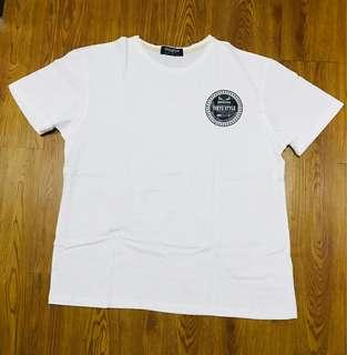 UniqTee white shirt