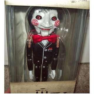 "Bearbrick Medicom SAW 4 JIGSAW Puppet Wood Doll 12"" Figure 3d (恐懼鬥室 禮物 罕有 潮物 高LING)"