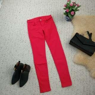J Brand skinny jeans in lipstick 27