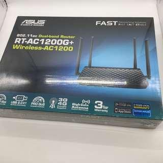 Brand new sealed Asus Dual Band Router RT-AC1200G+  One of the Best affordable router you can buy