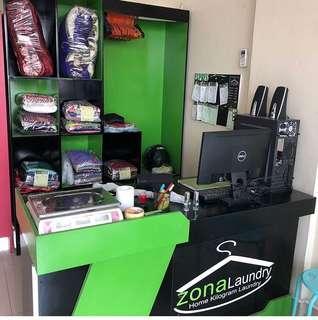 Peralatan Laundry Kiloan/ Satuan