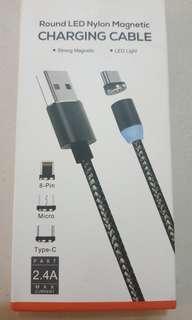 磁吸充電線