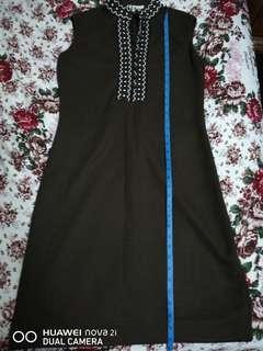 Dress Dark Brown #sparkjoychallenge