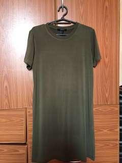 dc725beb7a0d8 Forever 21 Olive Green Dress