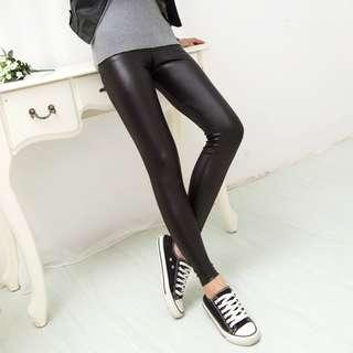 0cf7f46185 Women PU Leather Leggings