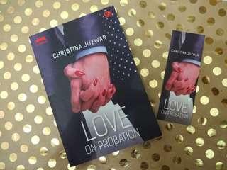 Love on Probation - novel by Christina Juzwar
