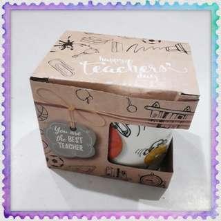 Happy Teachers Day Present Gift Ceramic Mug