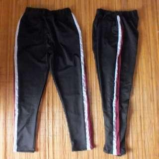 Training list zara pants