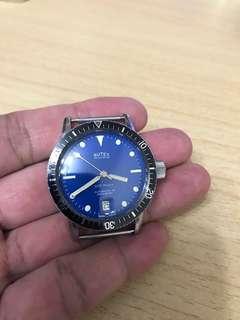 古董60年代瑞士潛水錶Butex 200m Skin Diver