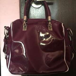 Mandi Maroon Handbag
