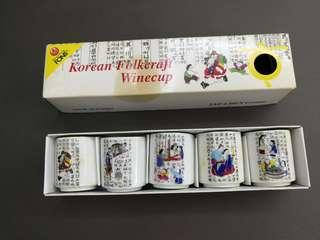 korean folkcraft winecup
