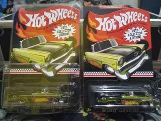 Hotwheels 2017 COLLECTOR EDITION