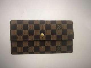 Authentic Louis Vuitton Trifold Damier Wallet