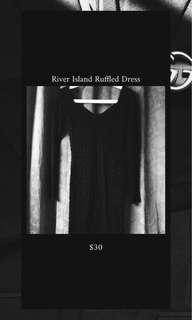 River Island Ruffled Dress