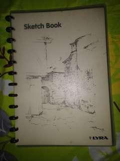 sketch book by LYRA