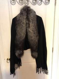 Real furr scarf