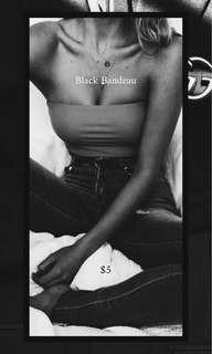 Black Bandeau