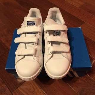 🚚 愛迪達 Adidas Stan Smith 藍 魔鬼氈鞋
