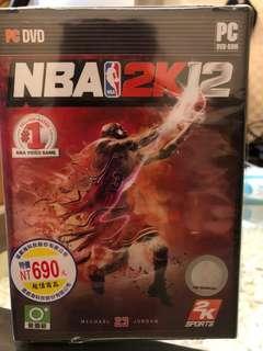🚚 [pc] 💽 NBA 2K12 遊戲光碟片