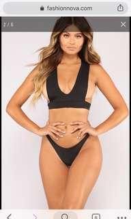 Fashion Nova Phi Phi Bathing Suit-NEW