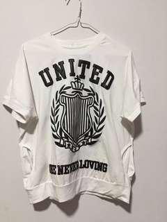 🚚 Cotton T shirt Top Free Size