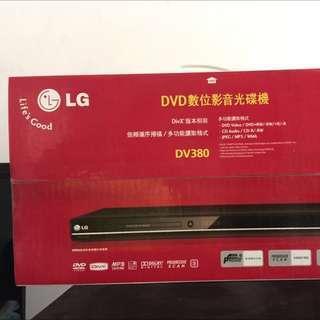 🚚 LG Dv380 DVD player 數位影音光碟機(brand new,全新未拆)