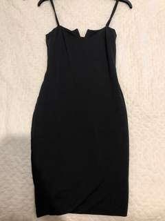 Kookai basic black dress