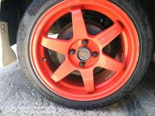 Swap with Ori Alza Sport Rim
