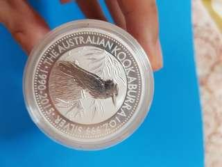 kookaburra 2015 silver coin