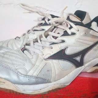 2手,mizuno球鞋,US11.5,鞋底良好,別再問,100元。