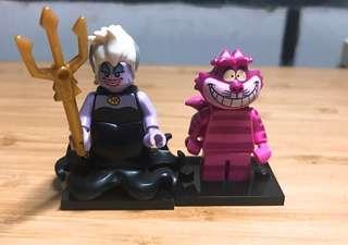 現貨 正品 ~樂高 Lego 71012 DISNEY 迪士尼人偶包系列 烏蘇拉 柴郡貓 ~
