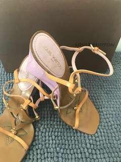 Louis Vuitton Fleur Wedge Shoes