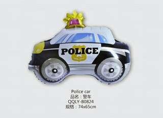 🎈POLICE CAR SHAPE BALLOON
