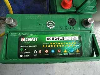 GLOBATT Car Battery 60B24LS