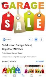 Garage Sale - Kitchenware, Kids, Men's & Women's Clothings, Home Appliances and Books and Bags